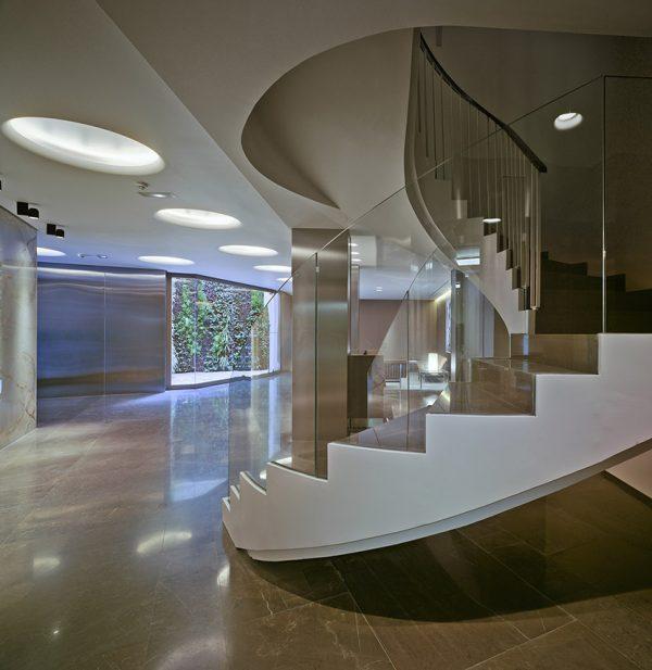 Diseño Interior Zagúan edificio viviendas