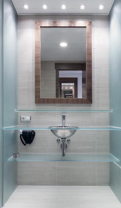 Interiorismo baño hotel