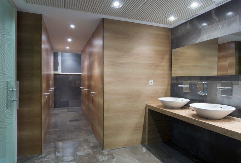 Interiorismo aseos hotel