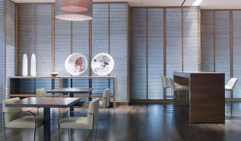 Interiorismo Cafetería Hotel