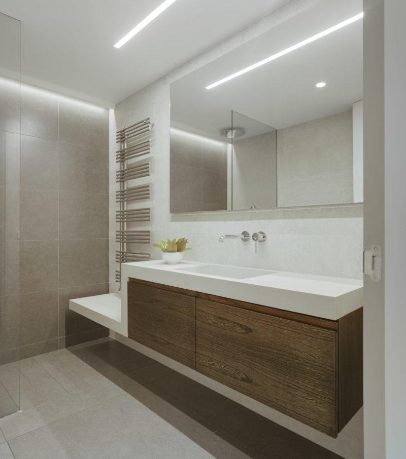 Baño de diseño.